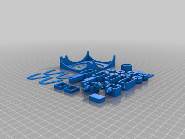 Teilesatz 3D-Druck für Bruder Jeep Wrangler Umbau
