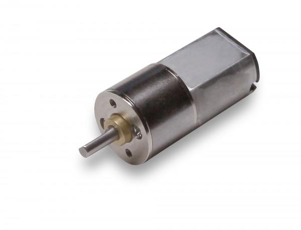 16mm DC Getriebemotor 6 Volt 260 RPM, kurz