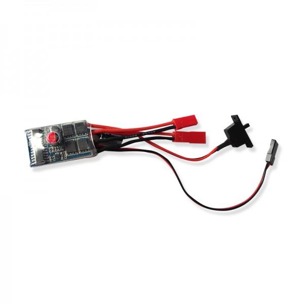 Fahrregler mit BEC und Schalter, 10 Ampere