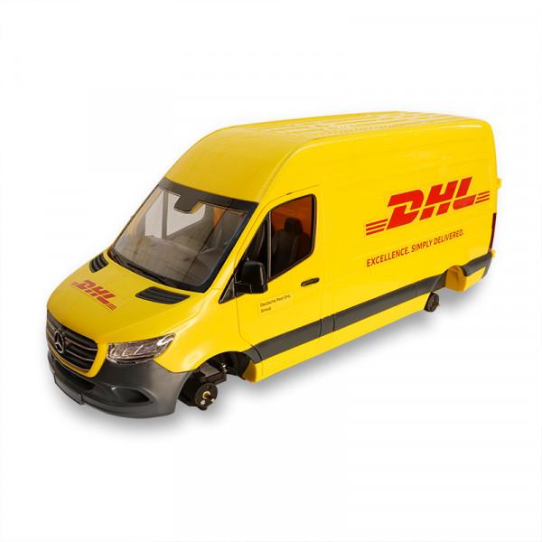 MB Sprinter DHL 2021 mit eingebautem Antrieb