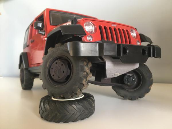 Jeep Wrangler Rubicon geöffnet und vorbereitet