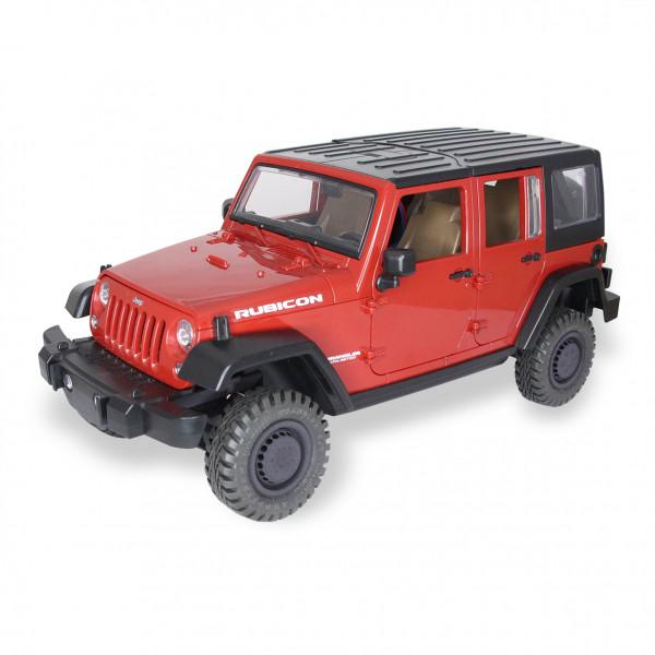 Jeep Wrangler Rubicon mit eingebautem Antrieb