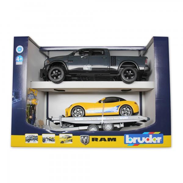 RAM 2500 Power Wagon GRAU mit Hänger+Roadster